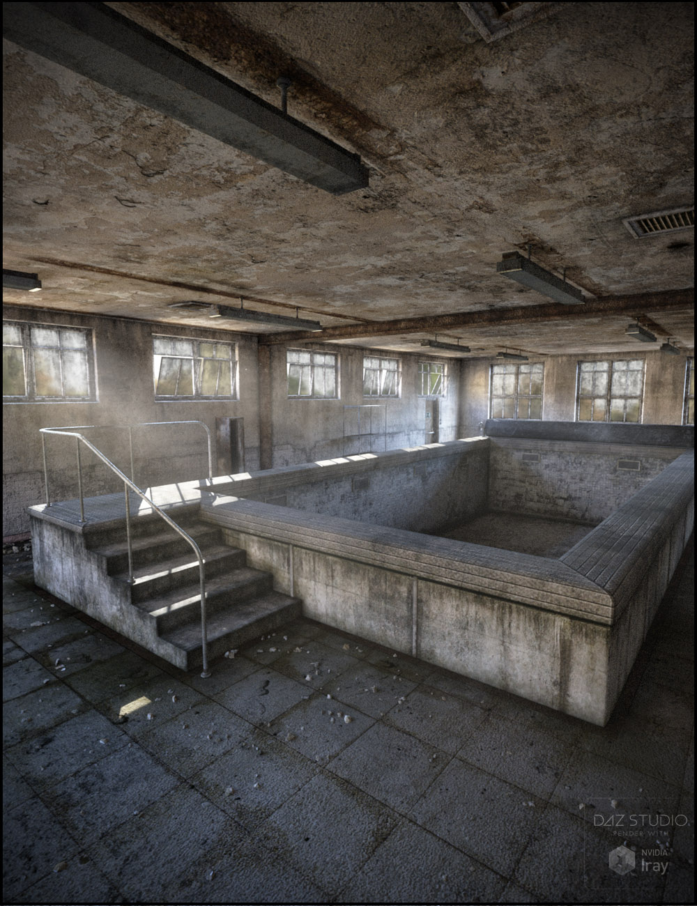 West Park Hydrotherapy by: Jack Tomalin, 3D Models by Daz 3D