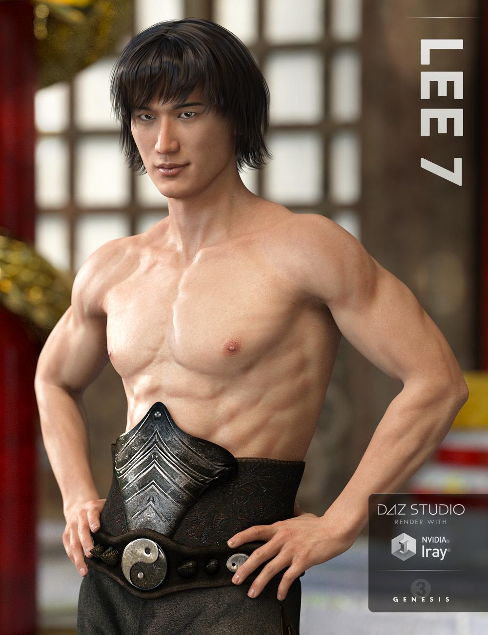 Lee 7 by: , 3D Models by Daz 3D
