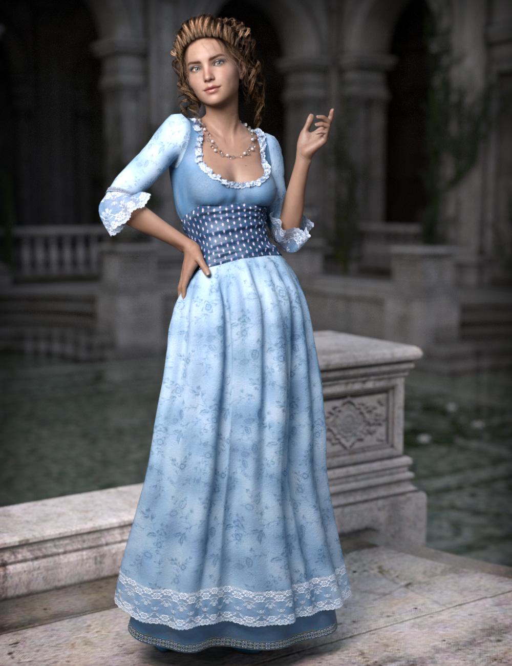 Fairytale Princess for Genesis 3 Female(s) by: esha, 3D Models by Daz 3D