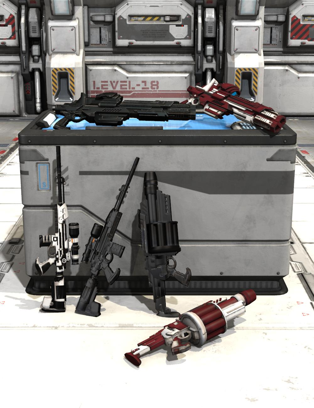 Mestophales Sci Fi Weapons 2 by: mighty_mestophales, 3D Models by Daz 3D