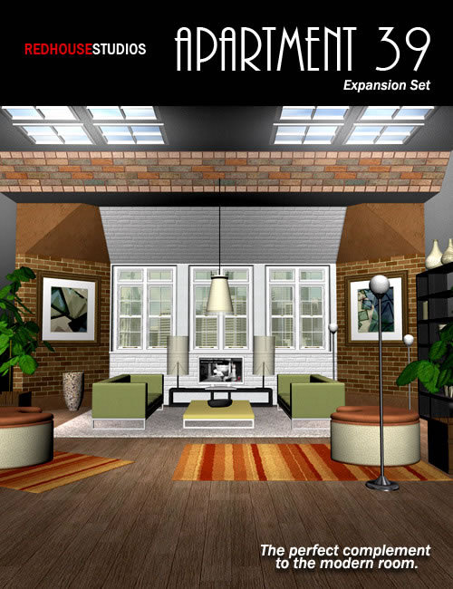 Apartment 39 Expansion Pack 1 by: , 3D Models by Daz 3D