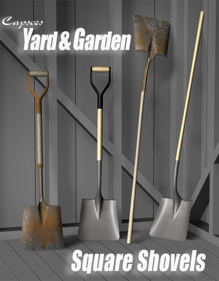 Yard and Garden - Square Shovels