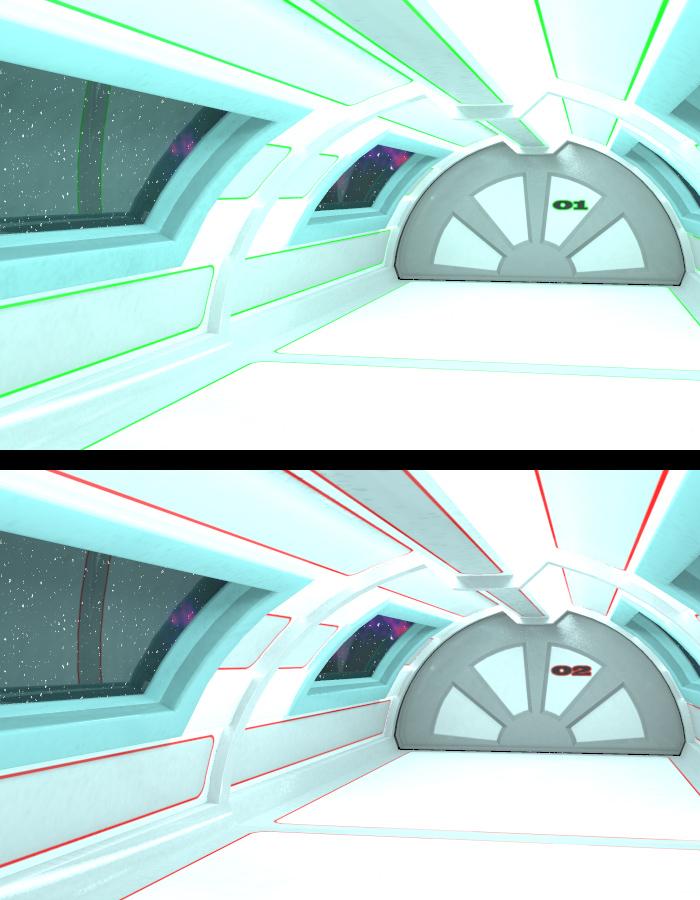 Lunar Science Station:  Access Bridge by: EvilinnocenceRuntimeDNA, 3D Models by Daz 3D