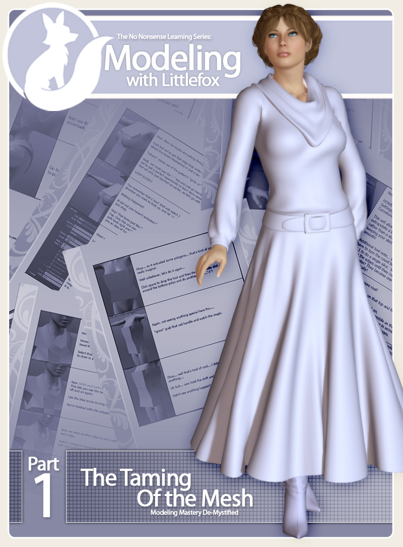 Modeling with Littlefox Collection 1 by: Lady LittlefoxRuntimeDNA, 3D Models by Daz 3D