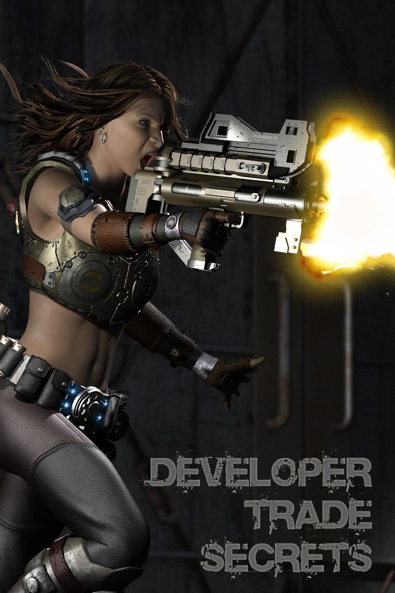 Developer Trade Secrets by: DarkEdgeDesignRuntimeDNA, 3D Models by Daz 3D