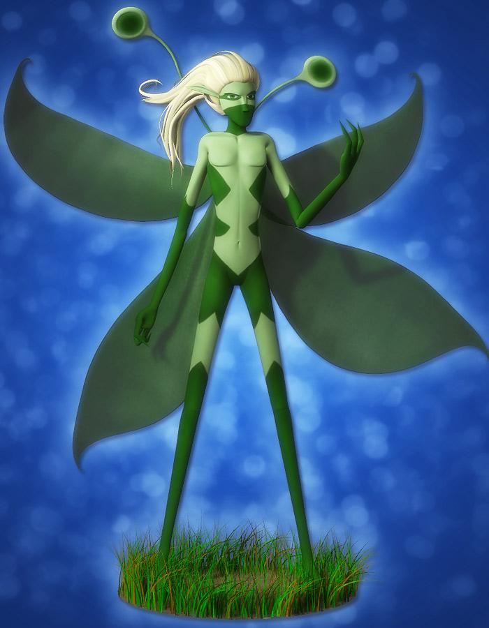 Ninja Sprite Male by: EvilinnocenceRuntimeDNA, 3D Models by Daz 3D