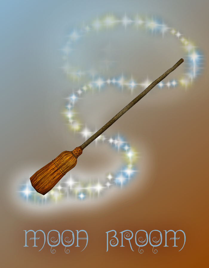 Moon Broom by: NGartplay, 3D Models by Daz 3D