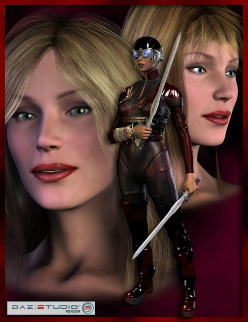 Victoria 3 Reduced Resolution by: , 3D Models by Daz 3D