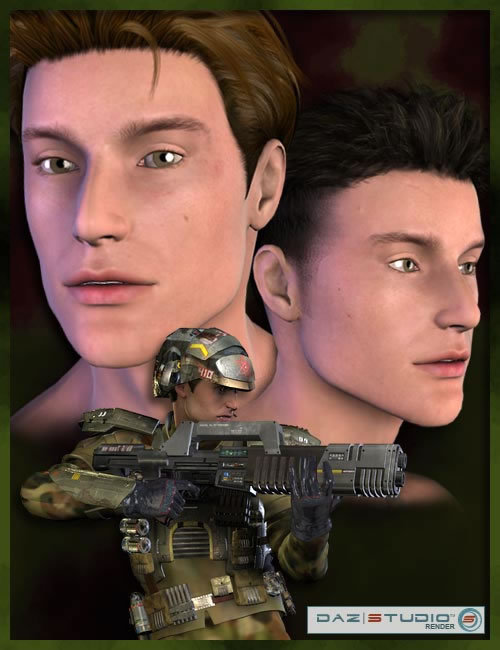 Michael 3 Reduced Resolution by: , 3D Models by Daz 3D
