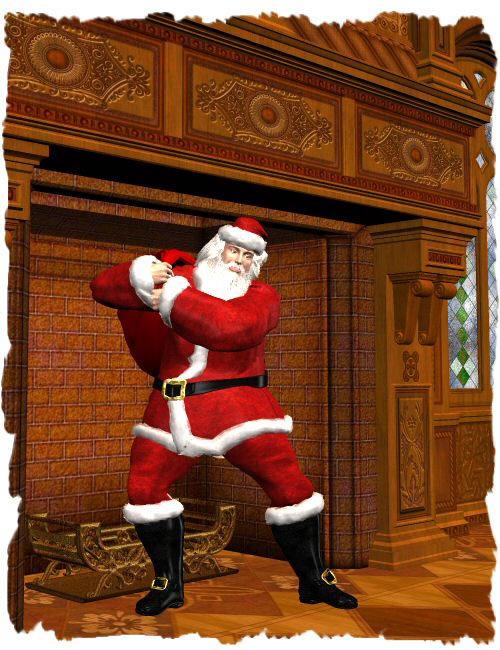 M3 Santa Suit by: WillDupre, 3D Models by Daz 3D