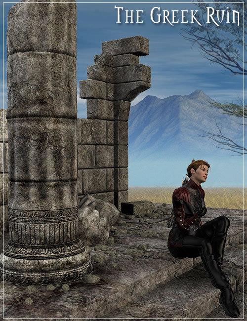 Greek Ruin by: Stonemason, 3D Models by Daz 3D