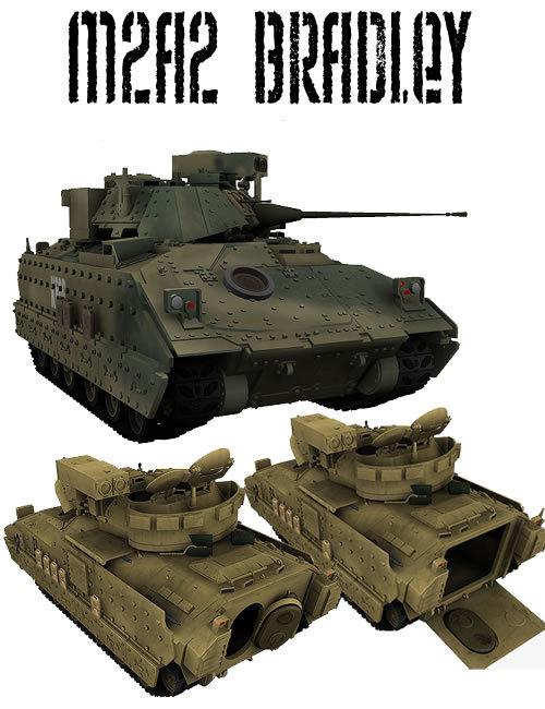 M2A2 Bradley ODS by: KuroKuma, 3D Models by Daz 3D