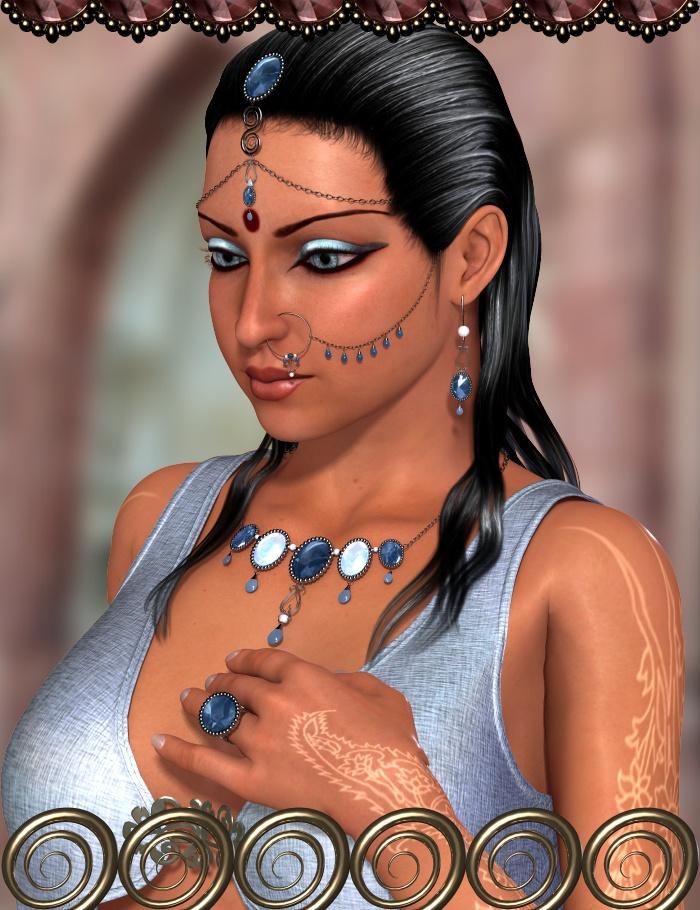 Hemavati Jewels by: 3D-GHDesignRuntimeDNA, 3D Models by Daz 3D