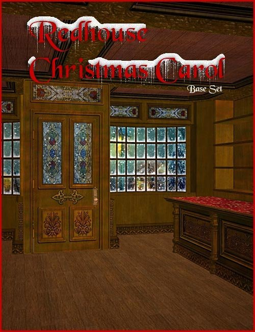 Redhouse Christmas Carol by: , 3D Models by Daz 3D