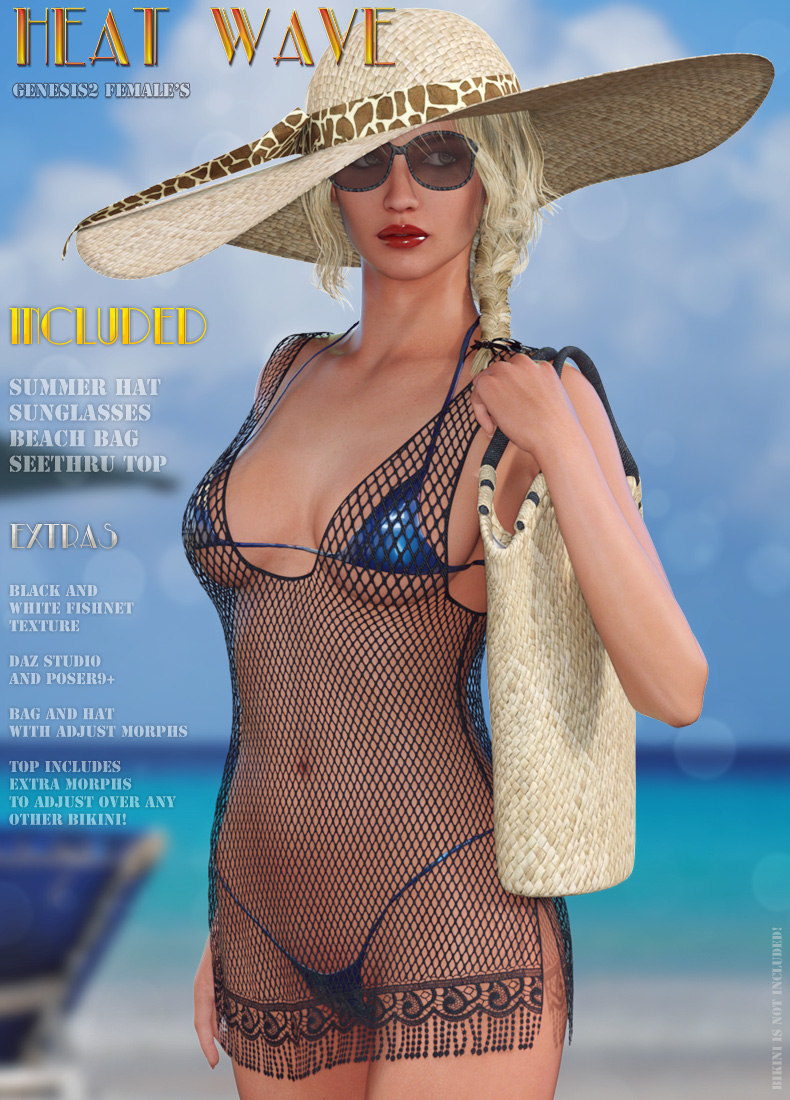 Heat Wave by: LilflameRuntimeDNA, 3D Models by Daz 3D