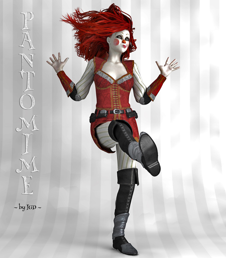 IGD_Pantomime by: IslandgirlRuntimeDNA, 3D Models by Daz 3D