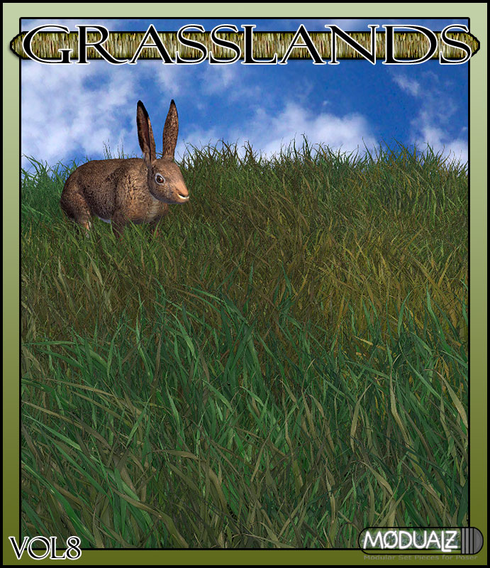 RDNA Grasslands Volume  8 by: RuntimeDNATraveler, 3D Models by Daz 3D