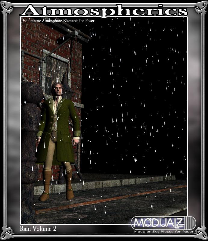 RDNA Atmospherics - Rain Vol 2 by: RuntimeDNATraveler, 3D Models by Daz 3D
