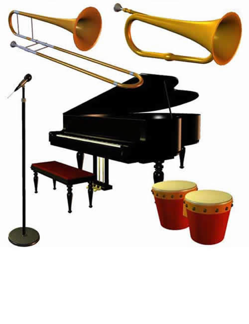 Music Pack by: , 3D Models by Daz 3D