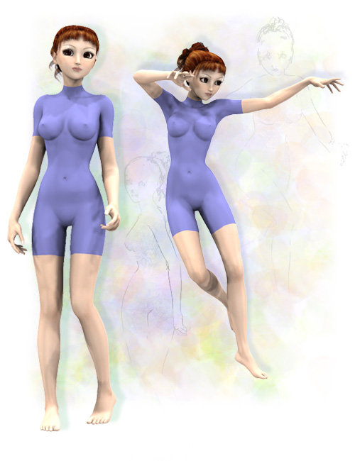 Aiko 3.0 First Moves by: Diane, 3D Models by Daz 3D