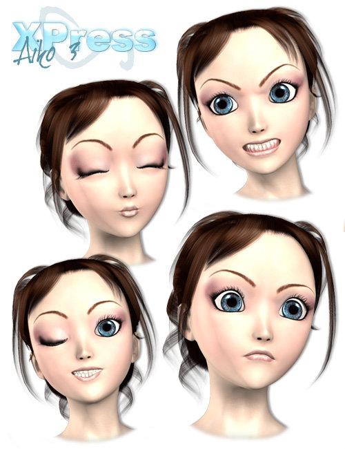 Aiko3Xpress by: , 3D Models by Daz 3D