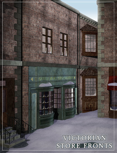 Victorian Street Front by: , 3D Models by Daz 3D