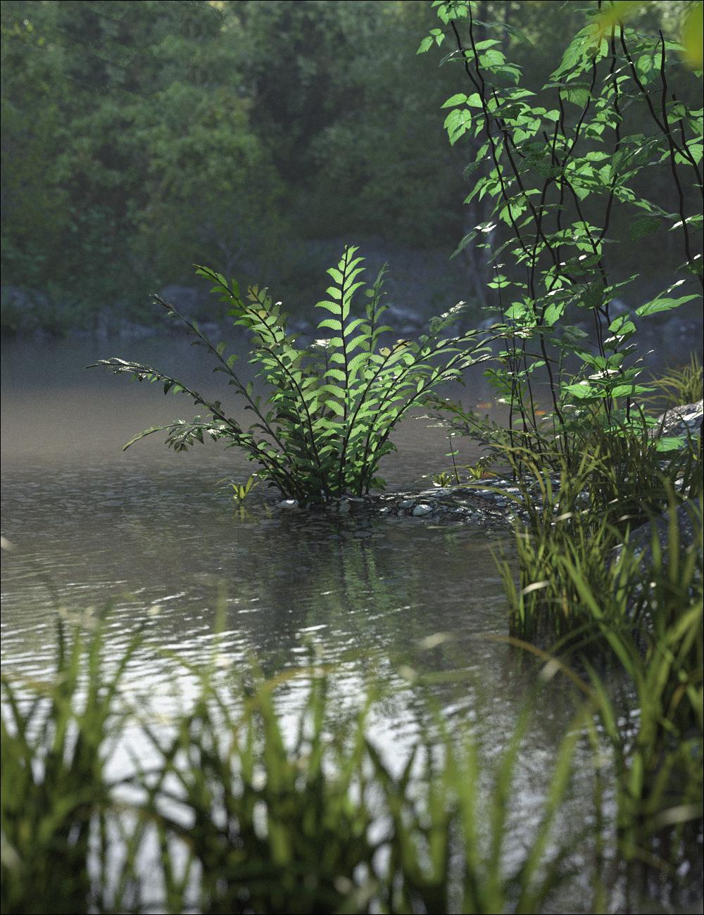 Fern Lake Bundle by: Stonemason, 3D Models by Daz 3D