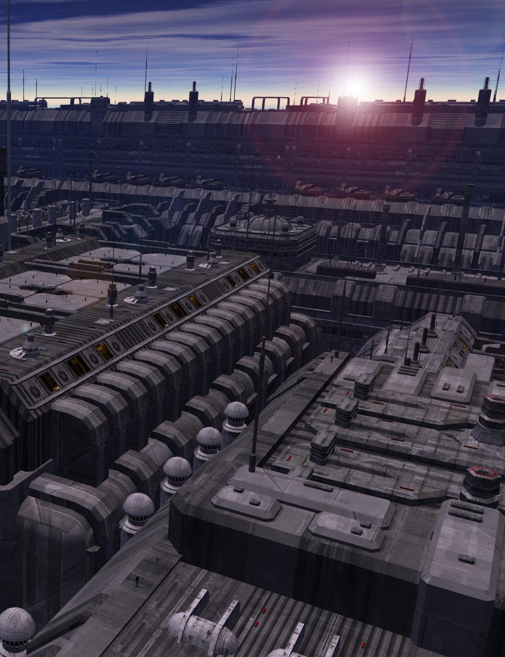 Future Cityscape City Blocks 01 by: inception8, 3D Models by Daz 3D