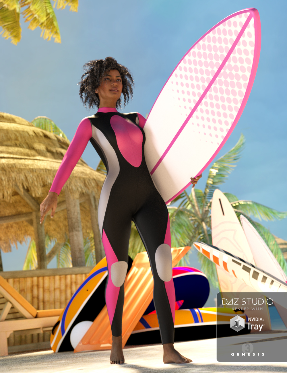 Wave Breakers for Genesis 3 Female(s) by: OziChick, 3D Models by Daz 3D