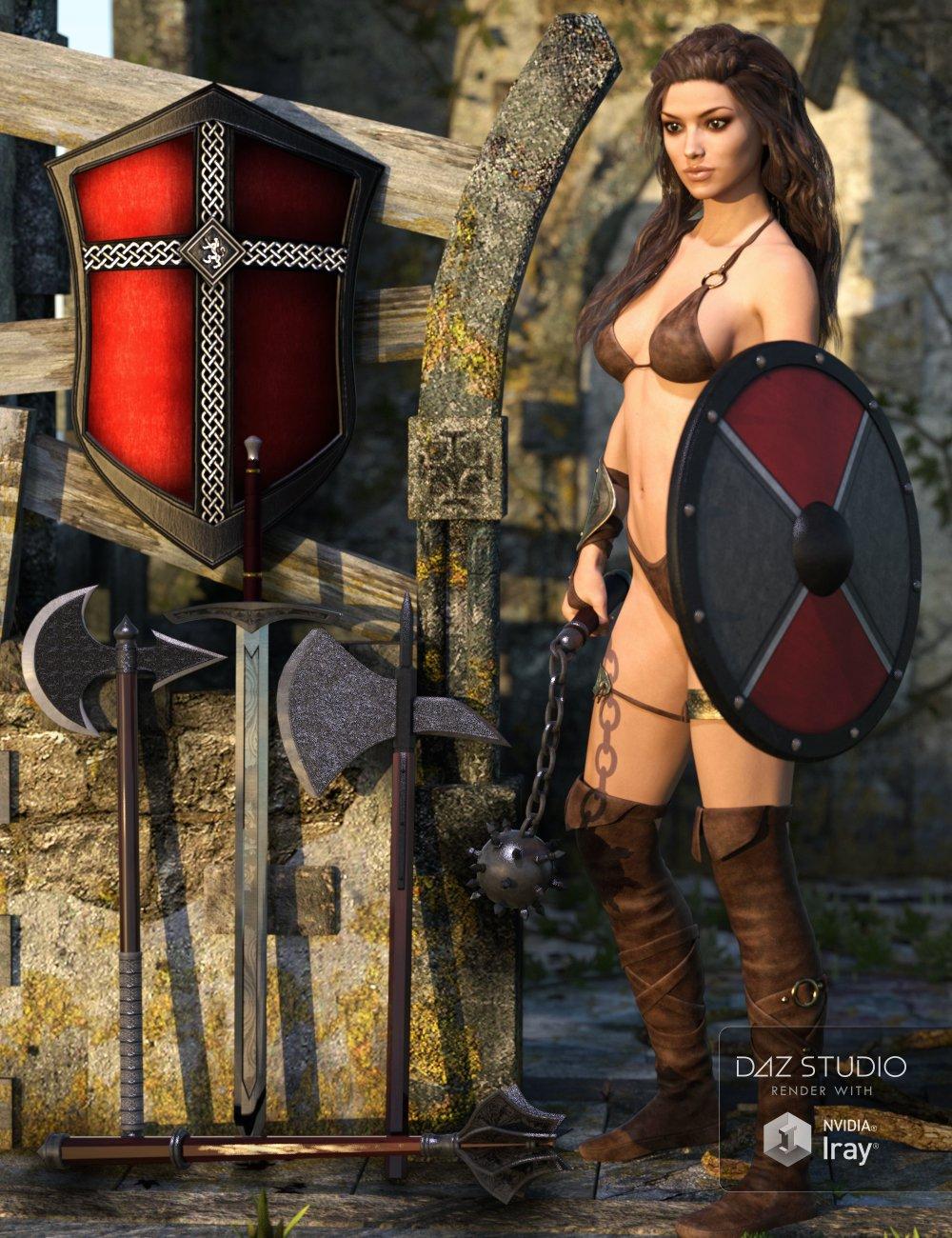 Defender Props by: Val3dart, 3D Models by Daz 3D