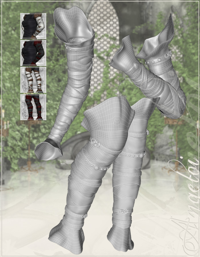 Angeloi - the Outfit by: ArkiRuntimeDNA, 3D Models by Daz 3D