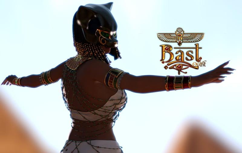 Bast for Genesis 3 Female by: Lady LittlefoxRuntimeDNASyyd, 3D Models by Daz 3D