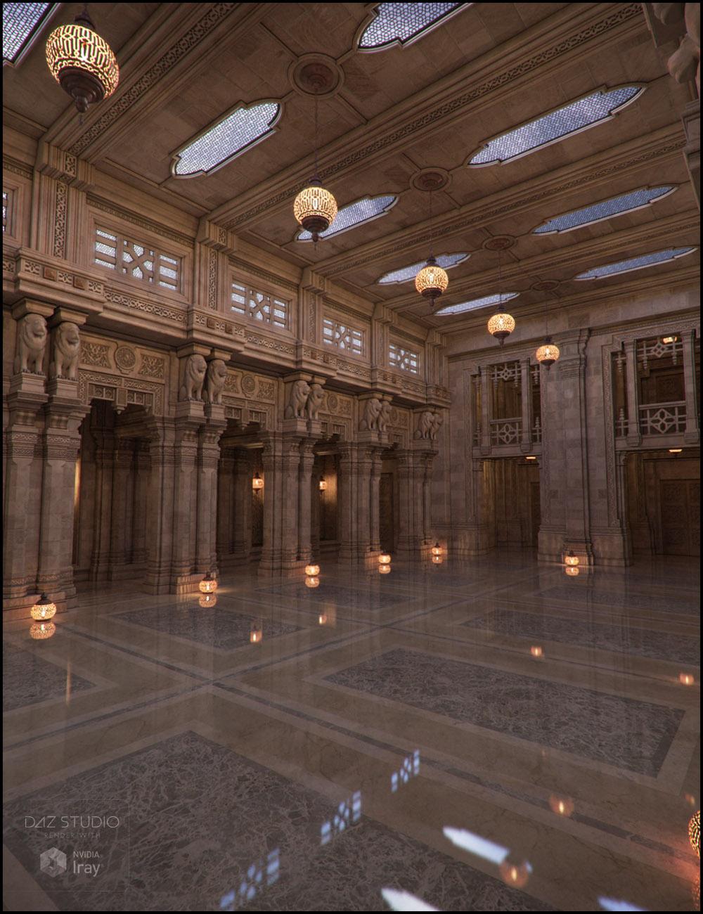 Aslan Court 3 Iray Addon by: Jack Tomalin, 3D Models by Daz 3D