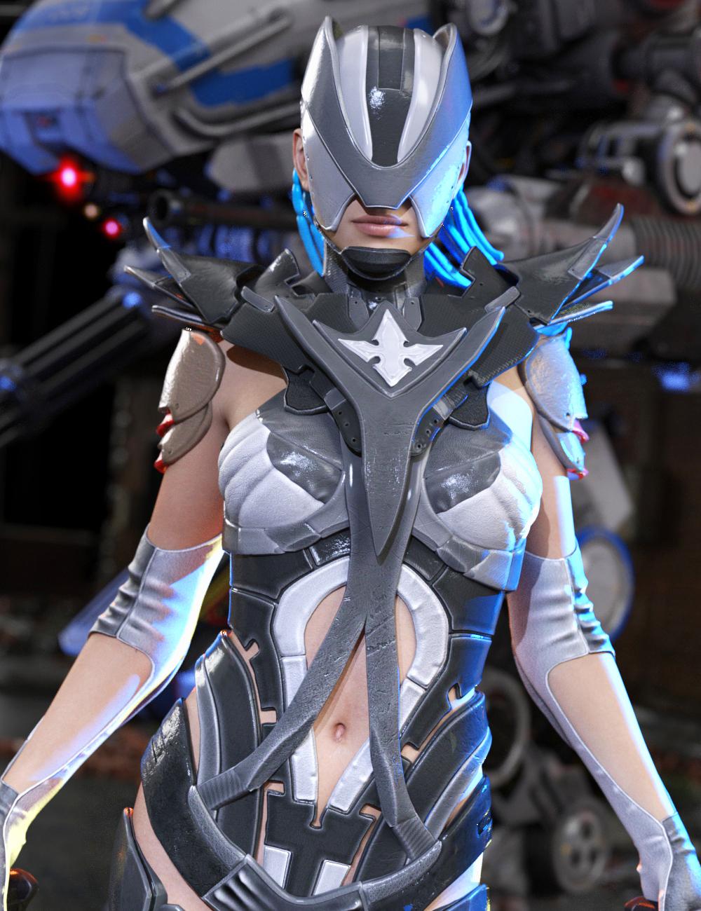 Fenix Outfit for Genesis 3 Female(s) by: Yura, 3D Models by Daz 3D