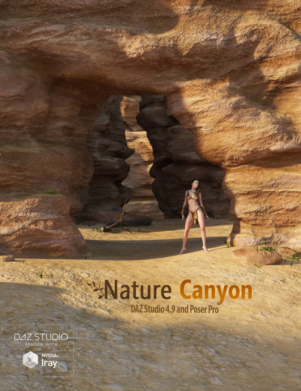 Nature - Canyon by: Andrey Pestryakov, 3D Models by Daz 3D