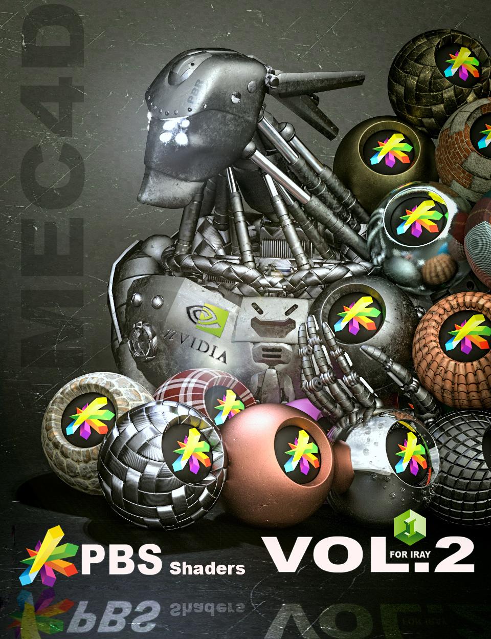 Mec4d PBS Shaders vol.2 for Iray by: Mec4D, 3D Models by Daz 3D