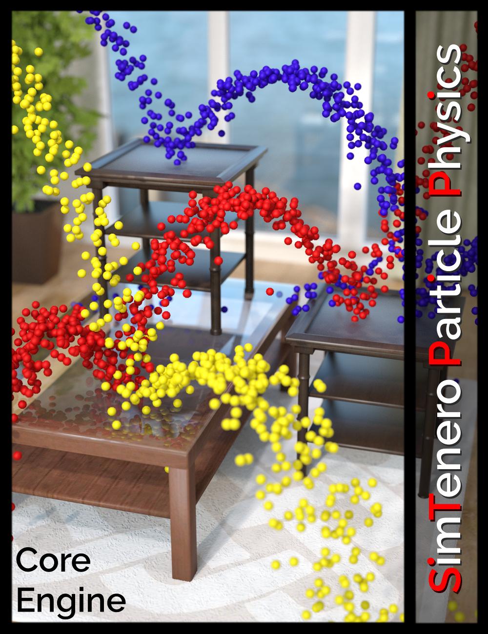 SimTenero Particle Physics - Core Engine by: SimTenero, 3D Models by Daz 3D