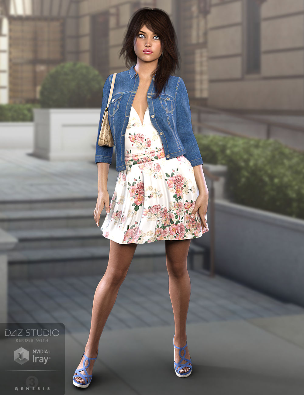 Linley Outfit for Genesis 3 Female(s) by: WildDesigns3-D Arena, 3D Models by Daz 3D