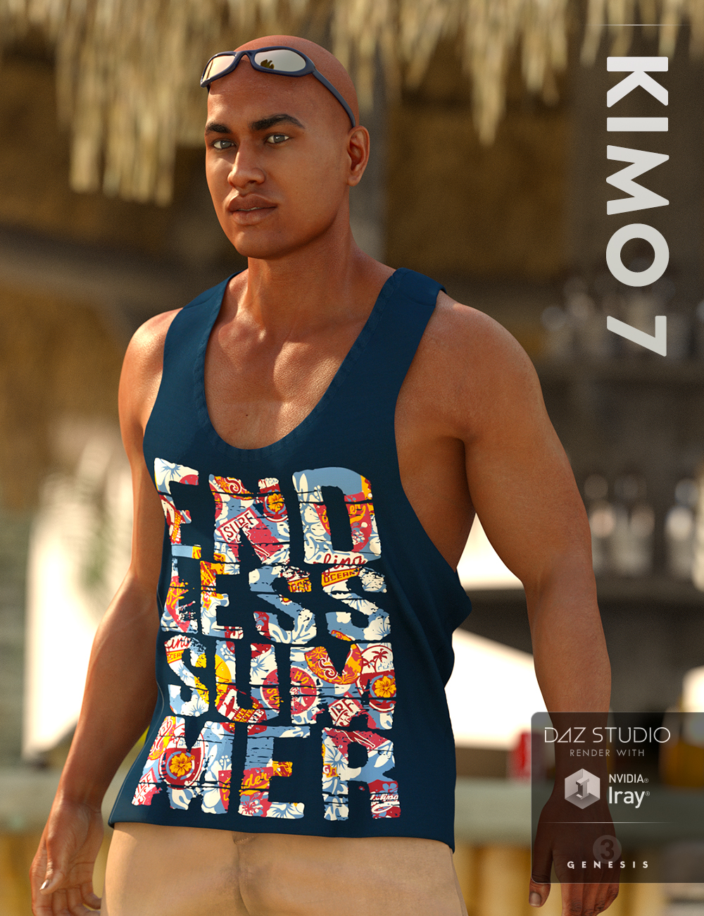 Kimo 7 by: , 3D Models by Daz 3D