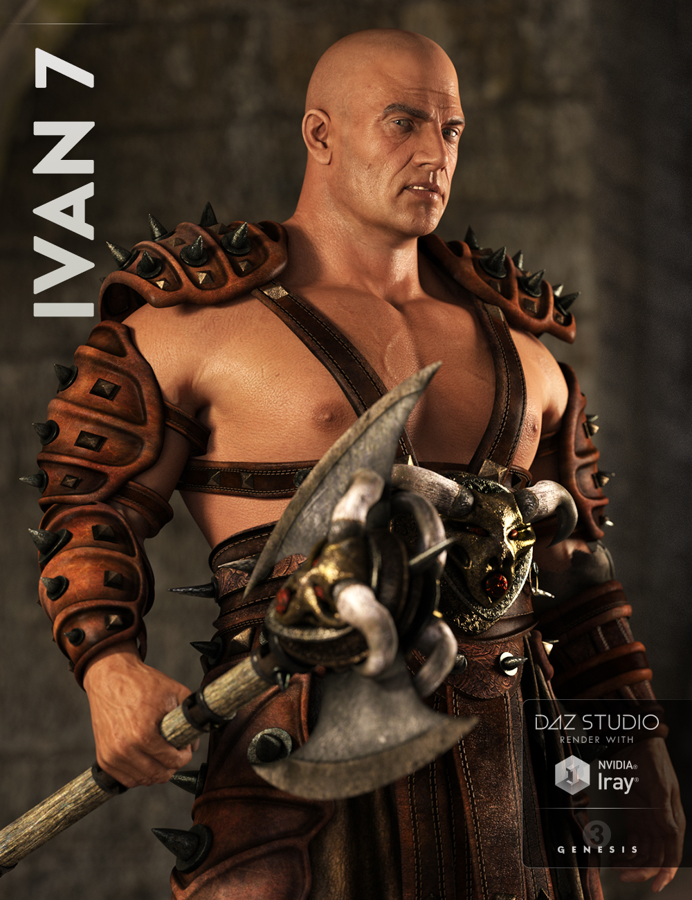 Ivan 7 by: , 3D Models by Daz 3D