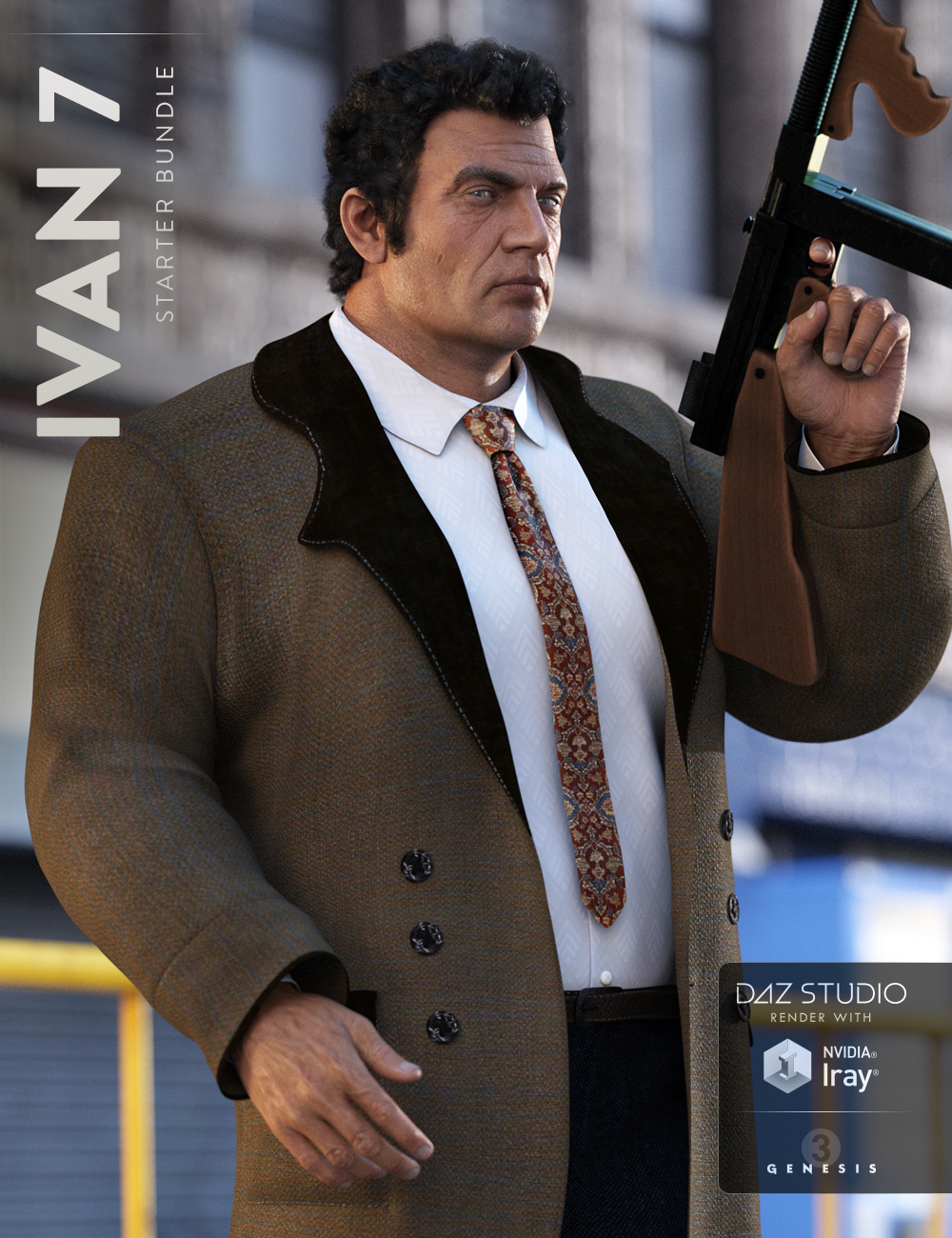 Ivan 7 Starter Bundle by: , 3D Models by Daz 3D