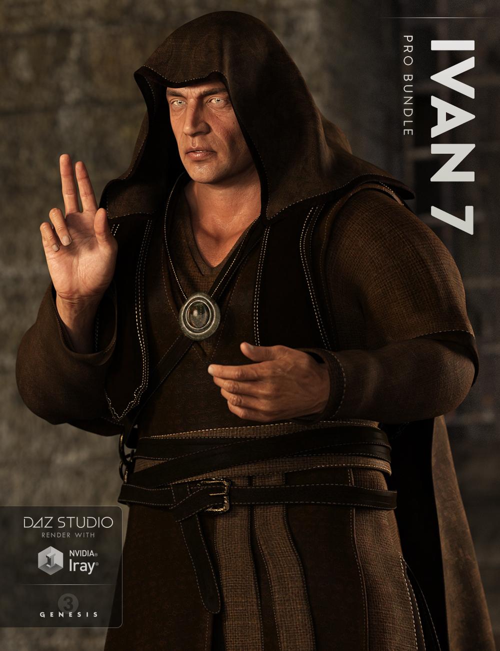 Ivan 7 Pro Bundle by: , 3D Models by Daz 3D