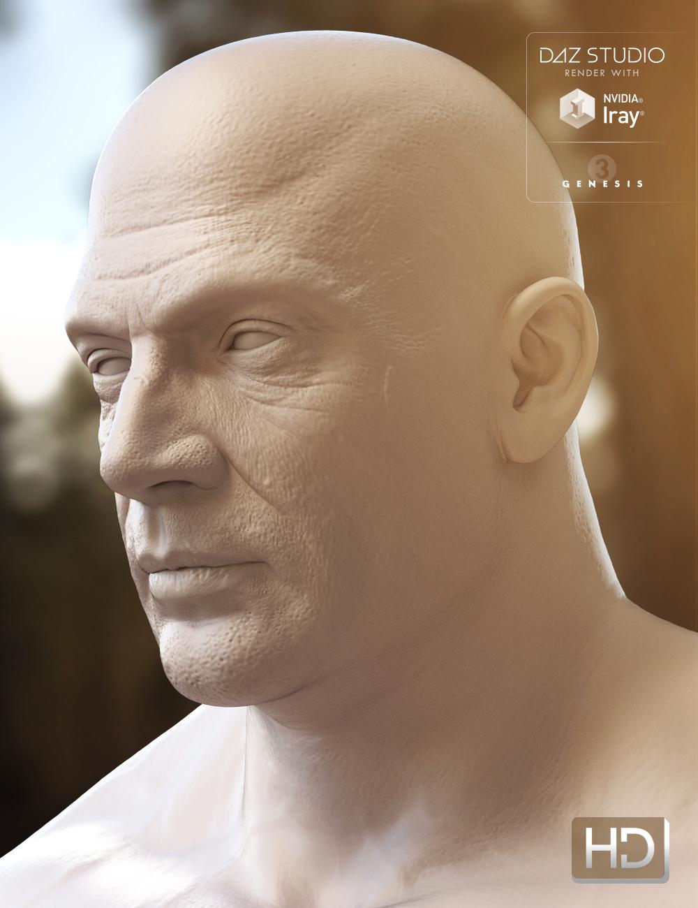 Ivan 7 HD Add-On by: , 3D Models by Daz 3D