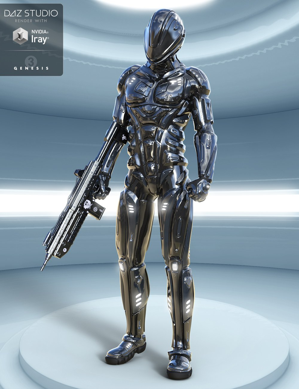 Astraios Ranger for Genesis 3 Male(s) by: midnight_stories, 3D Models by Daz 3D