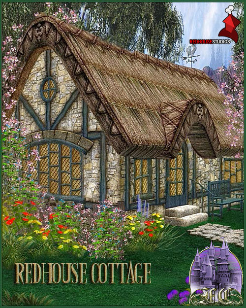 Fairytale Collection -- Cottage by: , 3D Models by Daz 3D