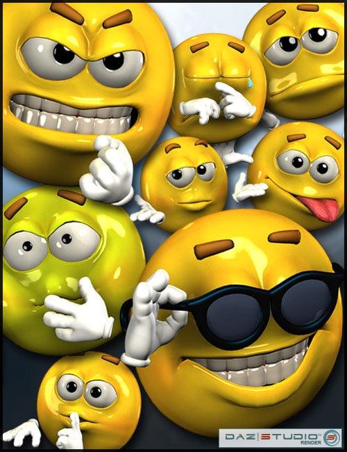 EmotiGuy by: 3D Universe, 3D Models by Daz 3D
