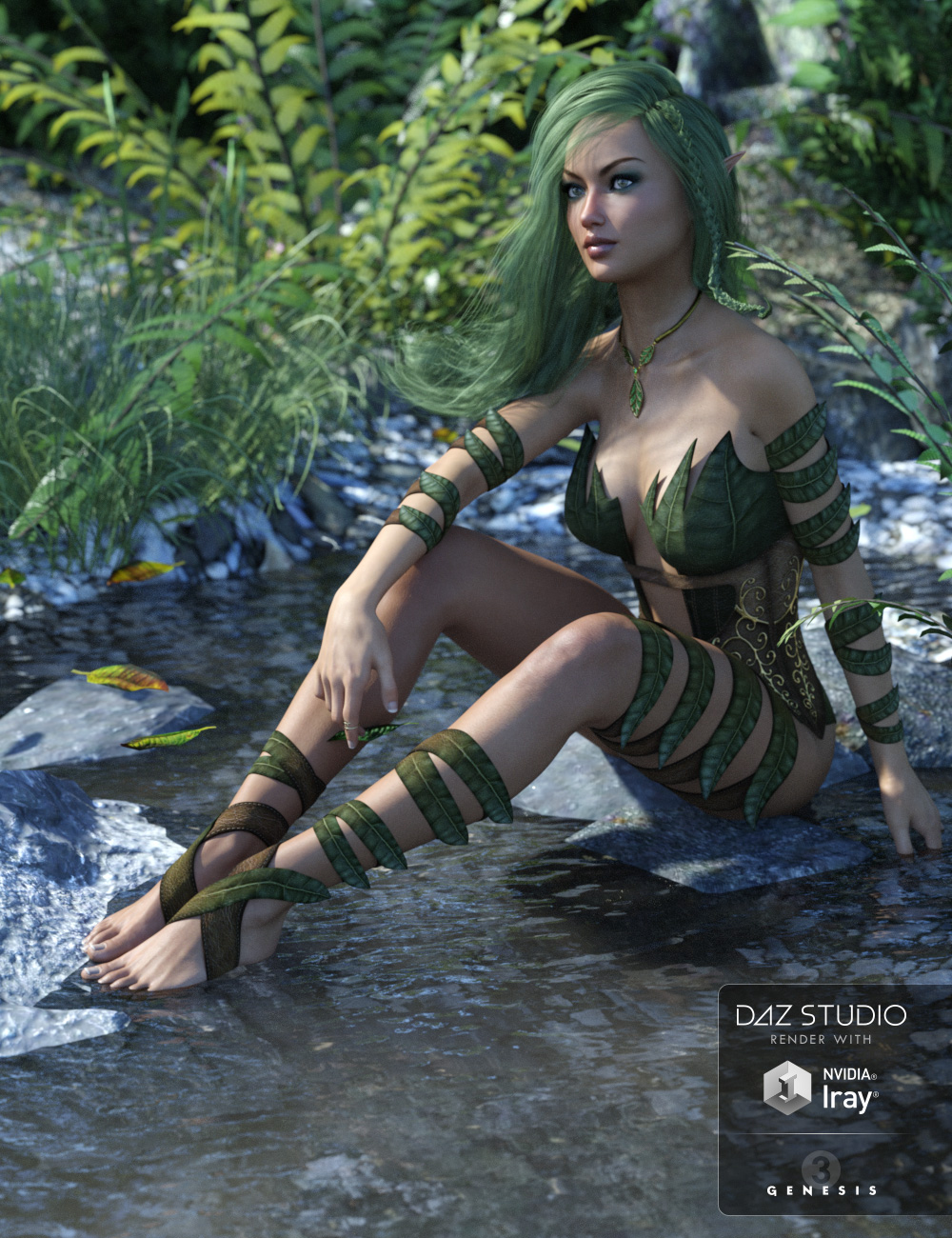 Wild Spirit for Genesis 3 Female(s) by: LilflameSveva, 3D Models by Daz 3D