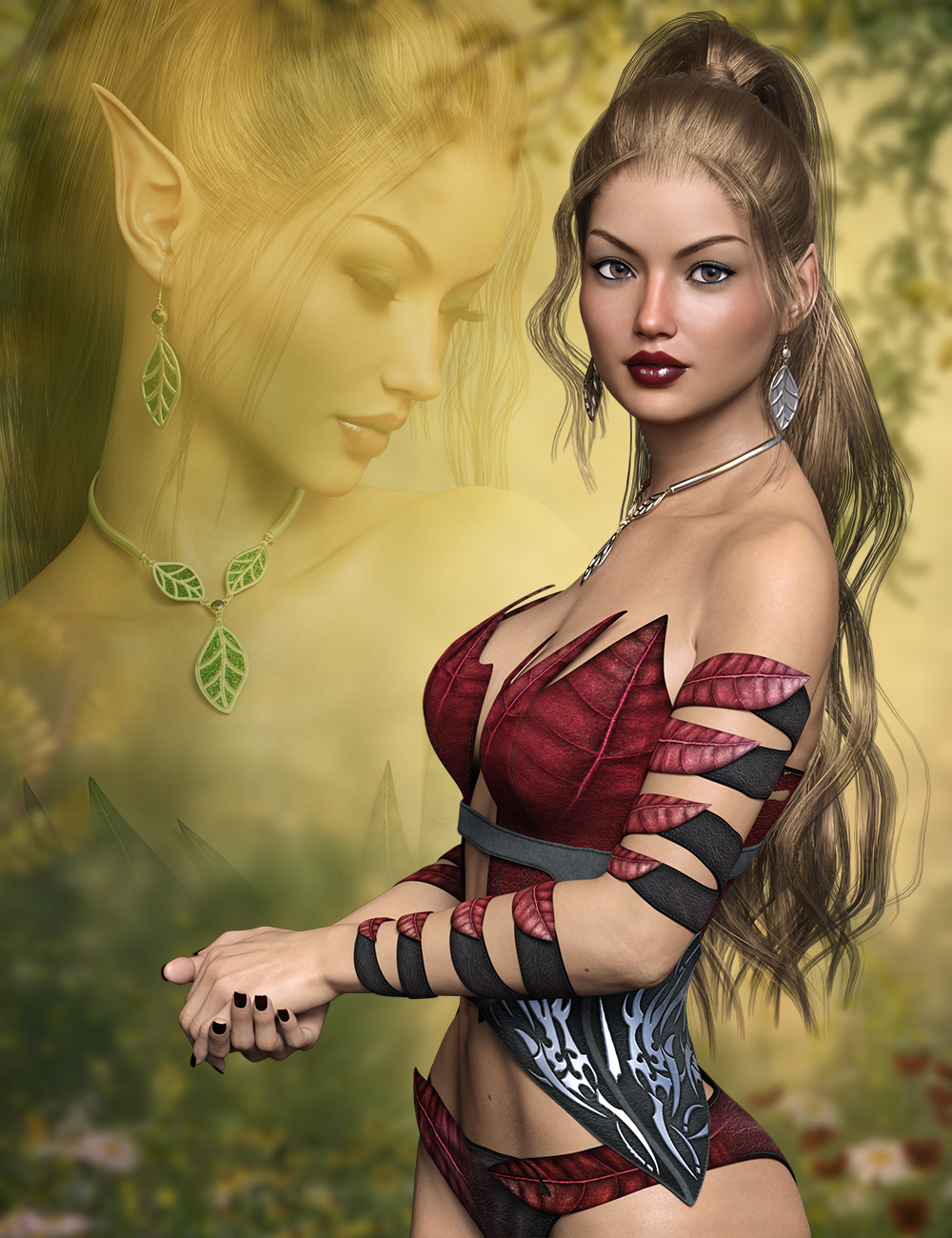 FWSA Vanessa HD for Victoria 7 and her Jewelry by: Fred Winkler ArtSabbyFisty & Darc, 3D Models by Daz 3D