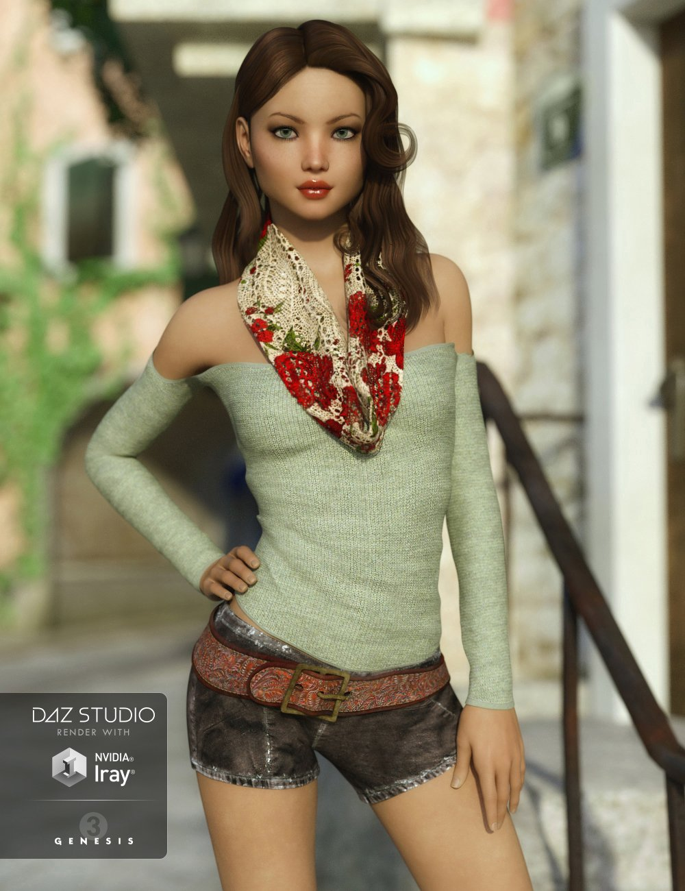 FWSA Filia HD for Sunny 7 by: Fred Winkler ArtSabby, 3D Models by Daz 3D