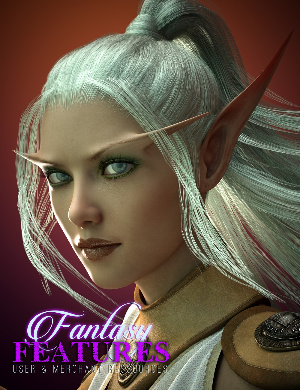 Fantasy Features for Genesis 3 Female(s) by: Cake One, 3D Models by Daz 3D